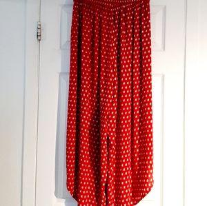 La classe couture Long wrap woman skirt